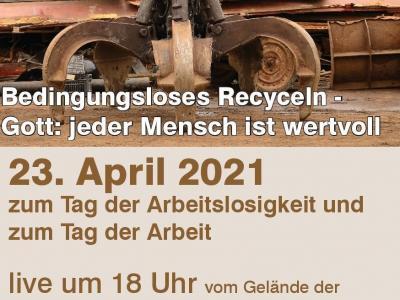Plakat Messe am Schrottplatz